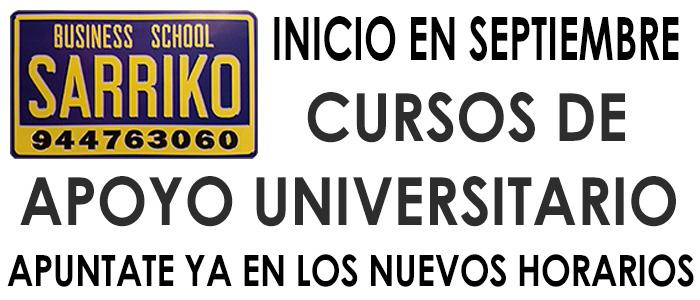 CursosSarrikoSep16