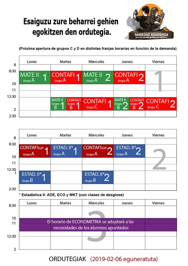 Horarios2Cua2018-19